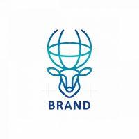Globe Deer Logo