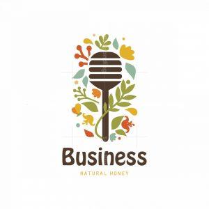 Honey Garden Symbol Logo