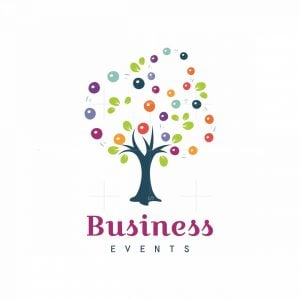 Juggle Tree Events Symbol Logo