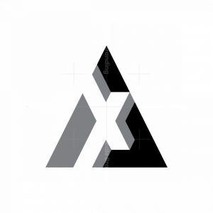Letter Ax Xa Logo