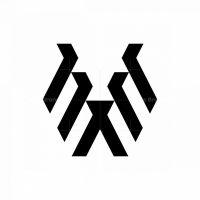 Letter Ee Pitbull Logo