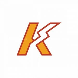 Letter K Electrical Logo