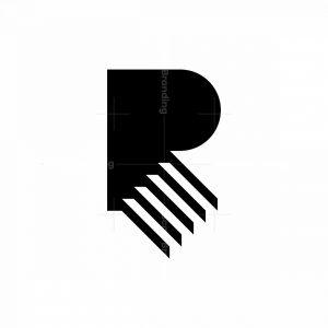 Letter R Stair Logo