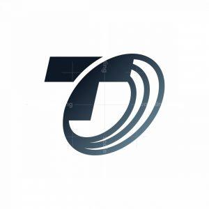 Letter T Tech Logo