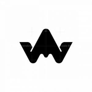 Letter Wa Wm Crown Logo