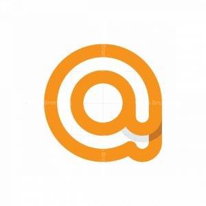 Letter A At Logo