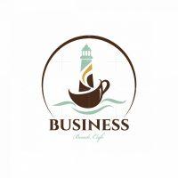 Lighthouse Cafe Symbol Logo