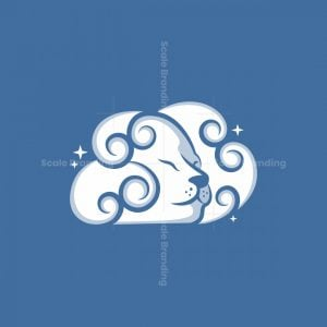 Lion Cloud Logo