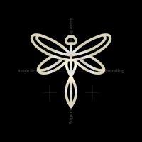 Luxury Dragonfly Logo