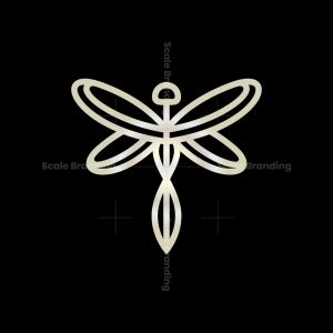 Luxury Dragonfly Logo Dragonfly Logo