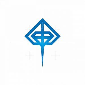 Luxury Diamond Stingray Logo