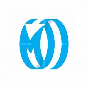 Letter M Arrow Logo