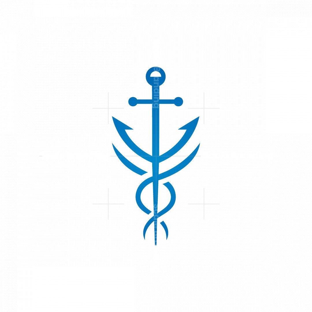 Maritime Caduceus Logo