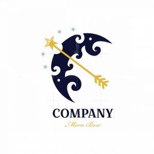Moon Bow Symbol Logo