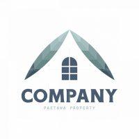 Paetawa Leaves Home Real Estate Symbol Logo