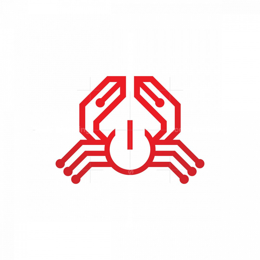Technology Crab Logo