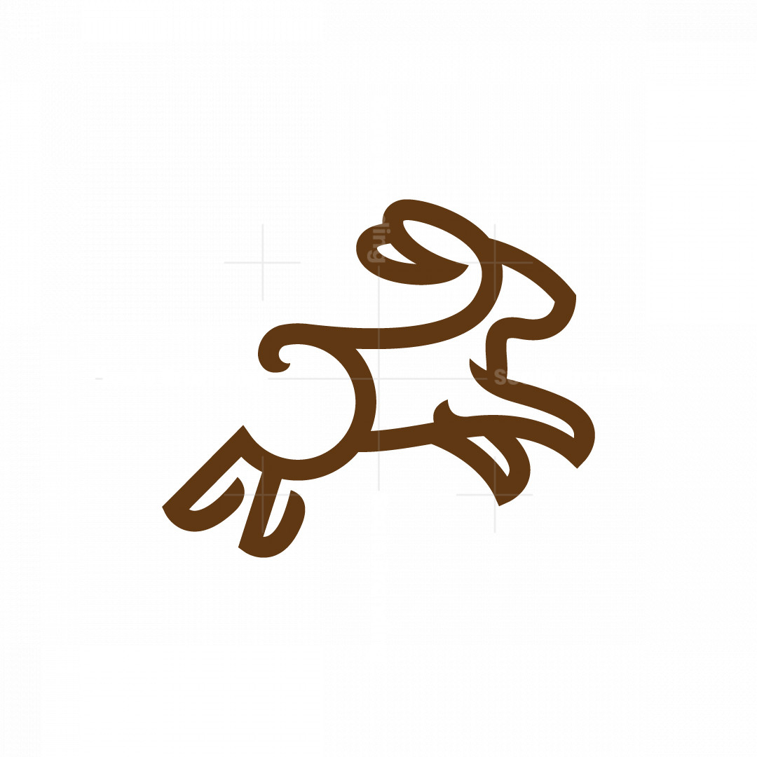 R Jumping Rabbit Logo