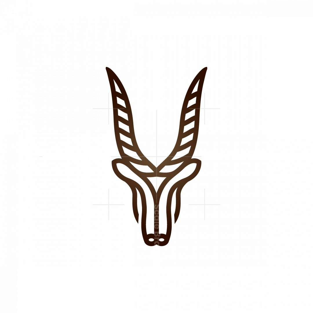 Saiga Antelope Logo
