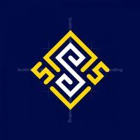 The Three Letter S Monogram Logo