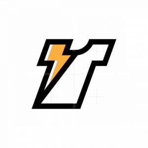Thunder T-shirt Logo
