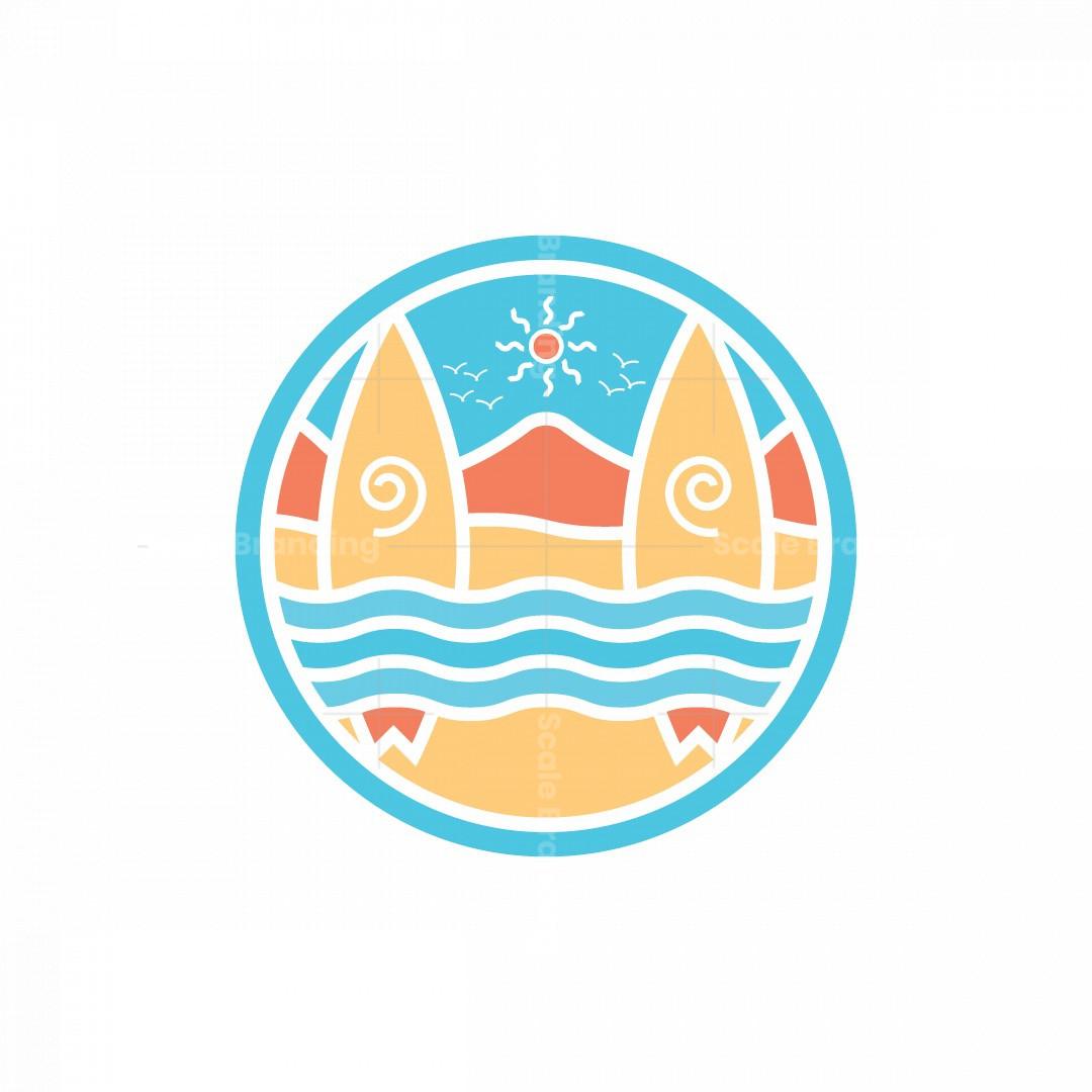 Summer Vacation Logo