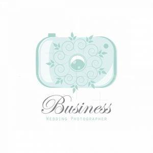 Wedding Photographer Symbol Logo