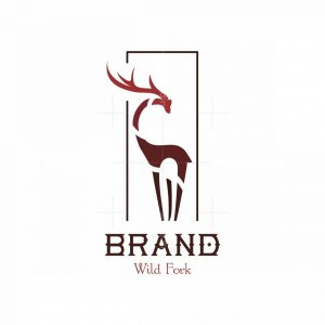 Wild Fork Symbol Logo