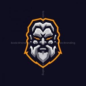Zeus God Esports Mascot Logo Design