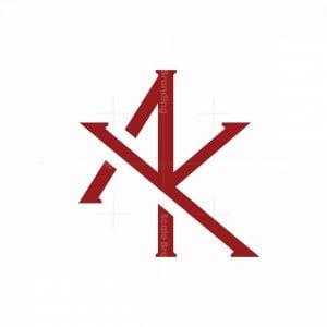 Aky Monogram Logo
