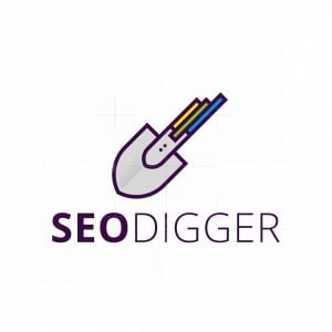Seo Statistics Analytics Digger Logo