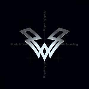 Letter V And W Logo