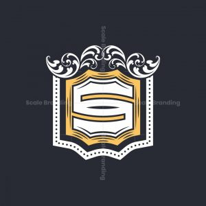 Ornament Letter S Logo