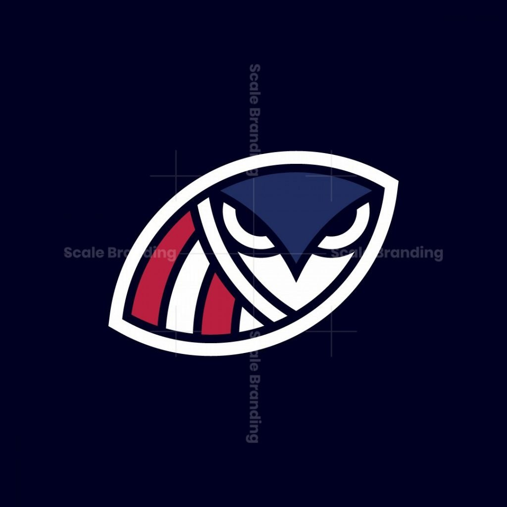 Hawks Of American Football Logo