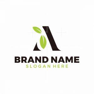 A Leaf Logo