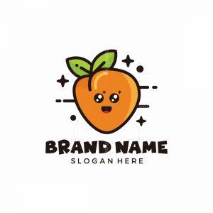 Cute Peach Logo