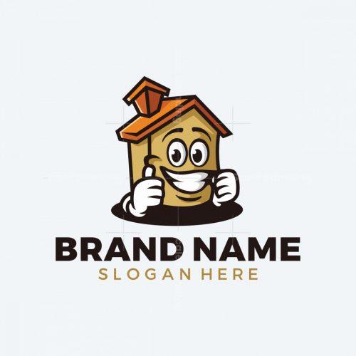 Fun House Mascot Logo