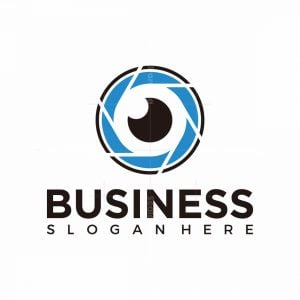 Lens Of Eye Logo