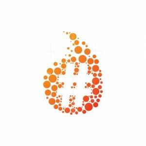 Fire Hashtag Logo