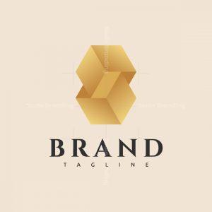 8 Gold Logo