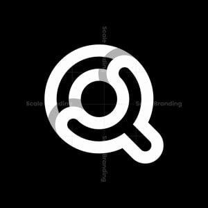 Letter Yq Qy Logo