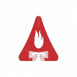 A Bon Fire Logo