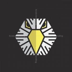 Abstract Eagle Head Logo