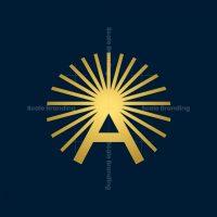 A Letter Sun Logo