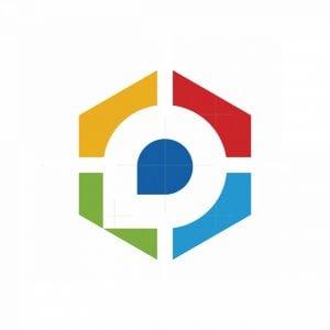 App Target A Letter Logo