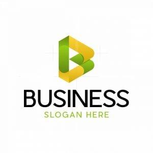 Letter B Modern Logo