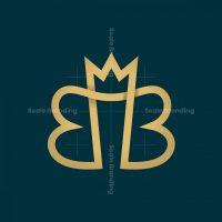 Letters Bb Crown Logo