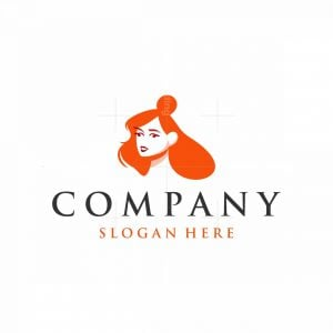 Beauty Face Silhouette Logo