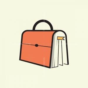 Bag And Book Logo