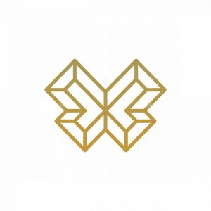 Butterfly Geometry Logo