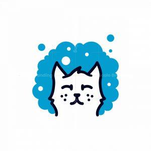 Cat Grooming Logo